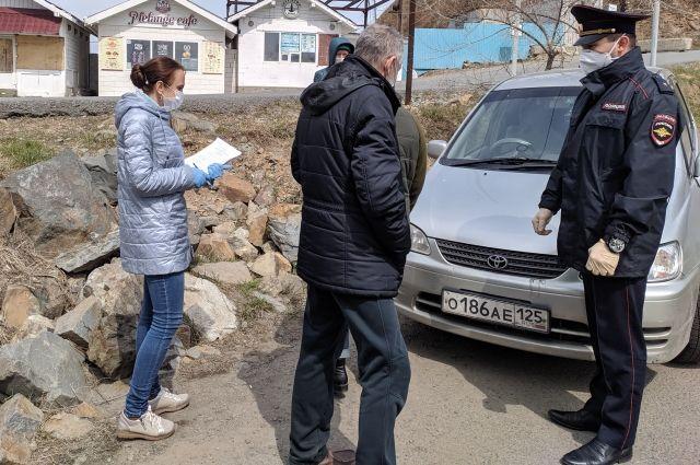 В Красноярске выявили почти 5 тыс. нарушителей режима самоизоляции