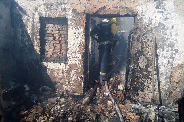 Трое детей погибли в пожаре в Кировоградской области