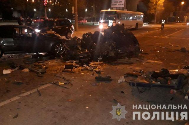 В Днепре произошла авария: погибли два человека