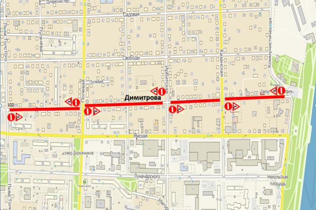 В Тюмени на четыре месяца ограничат проезд по улице Димитрова