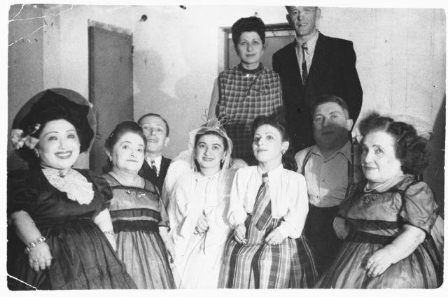 Семья Овиц в Израиле, 1950 г.