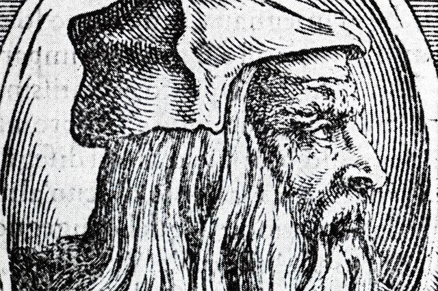 Портрет Леонардо да Винчи, 1500 г.