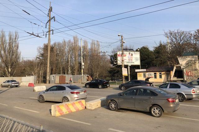 В конце апреля будет запущено движение по мосту на Гагарина в Симферополе