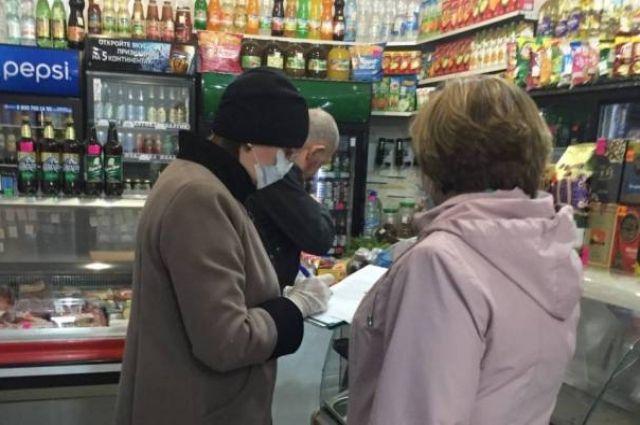 В Новотроицке за продажу пива на 90 суток опечатан магазин.