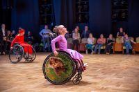 Тюменские спортсмены на колясках продолжают танцевать online