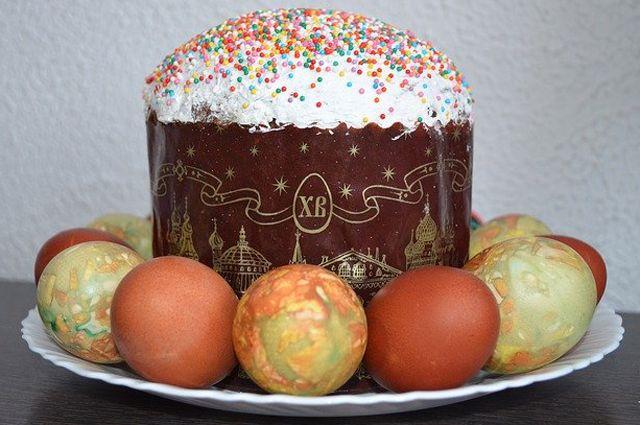 В советские годы яйца красили главным образом луковой шелухой.