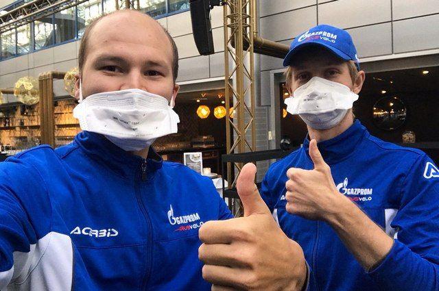 Игорь Боев (на фото справа) заболел коронавирусом во время соревнований в ОАЭ