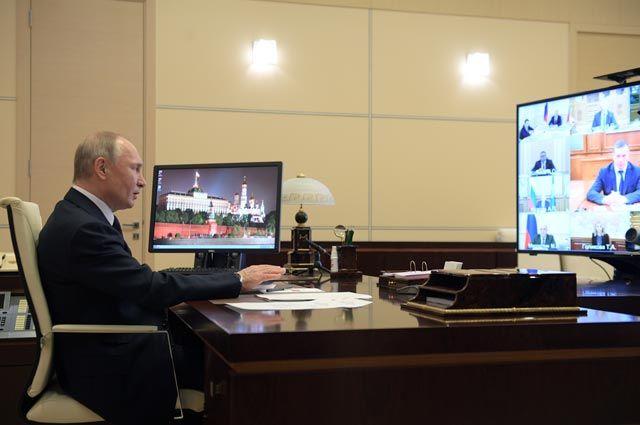 Президент Владимир Путин.