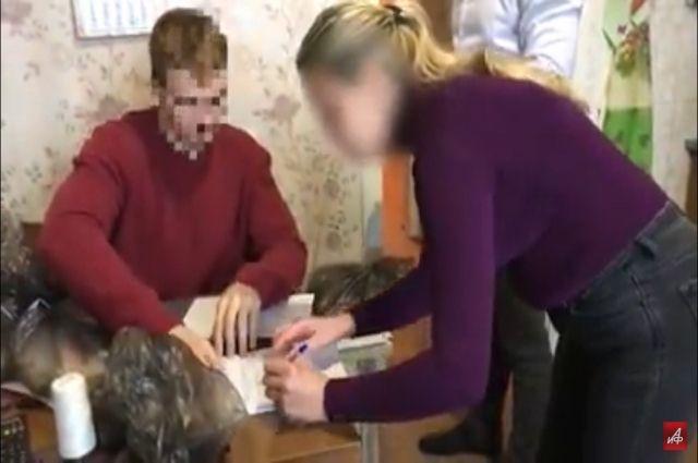 ФСБ опубликовала видео задержания в Крыму украинских шпионов