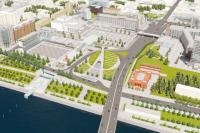 Реновация Театральной площади – один из проектов подготовки Красноярска к 400-летию.