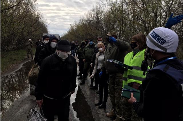 На Донбассе завершился первый этап обмена пленными
