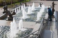 На деньги из бюджета обслуживаются 30 городских фонтанов.