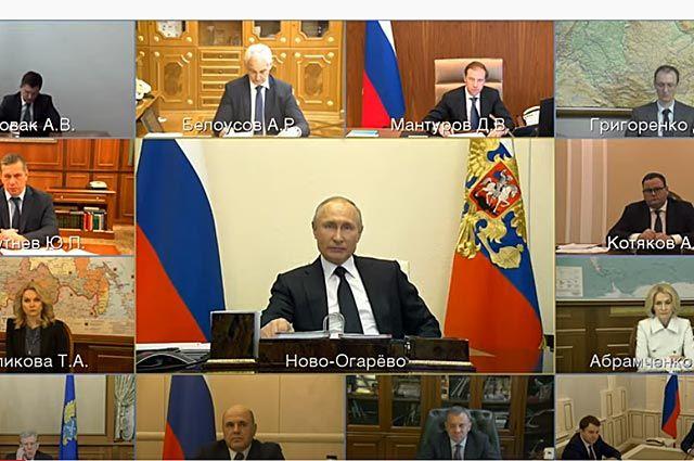 Какие новые поручения дал Путин в связи с COVID-19?