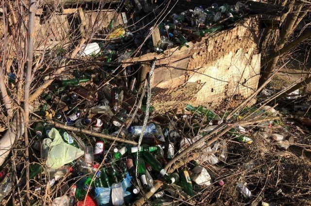 На территории МПЗ постоянно находится огромная гора мусора, источающая «помоечные» запахи.