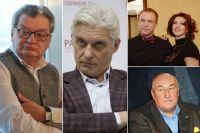 Александр Беляев, Олег Тиньков, Виктор Рыбин, Наталья Сенчукова, Борис Клюев.
