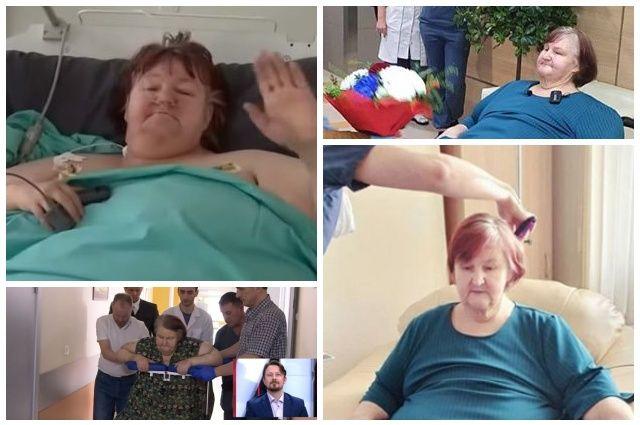 Тюменку, похудевшую на 200 кг, выписали из больницы