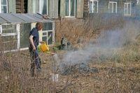 Жителям запрещается выходить в леса, разводить огонь, поджигать сухую траву.