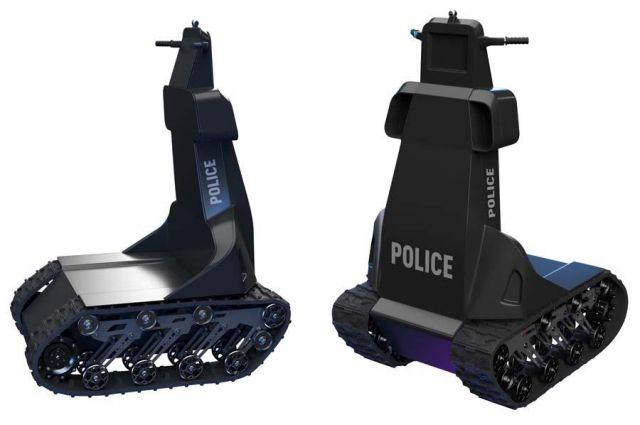 В Запорожье разработали робота-полицейского для работы в условиях пандемии