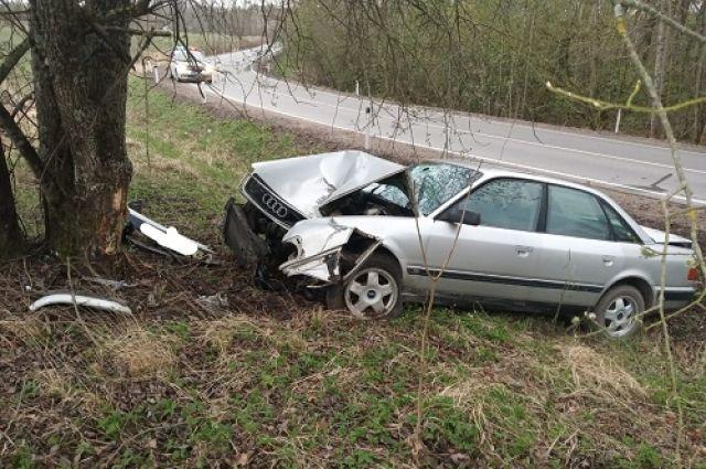 В Калининградской области произошло ДТП с тремя пострадавшими, включая ребёнка