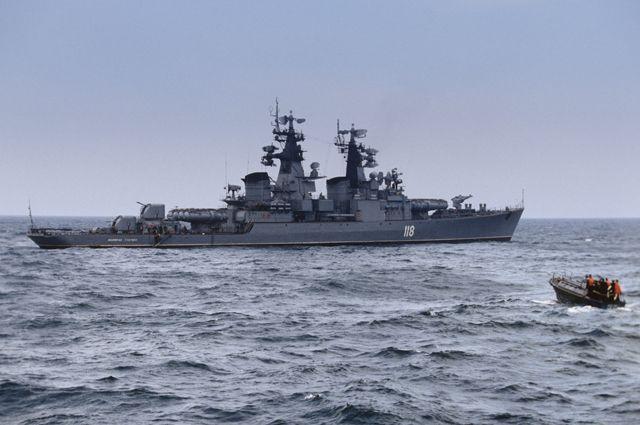 Фрегат «Адмирал Головко».