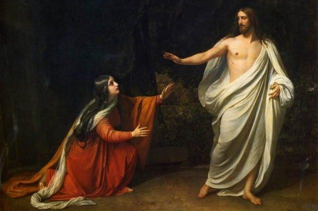 Александр Иванов. «Явление Христа Марии Магдалине после Воскресения»