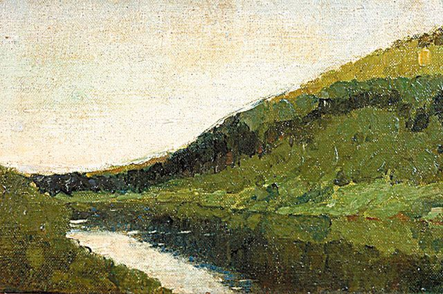 Исаак Левитан. «Тихая речка».