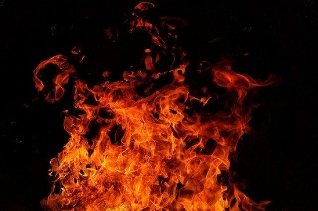 Возгорание произошло  на втором этаже дома 18 апреля.