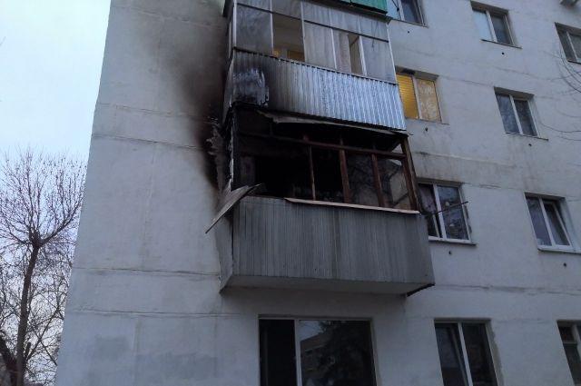 В Оренбурге из-за курильщика могли погибнуть люди.