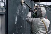 Военные химики провели дезинфекцию ТВВИКУ