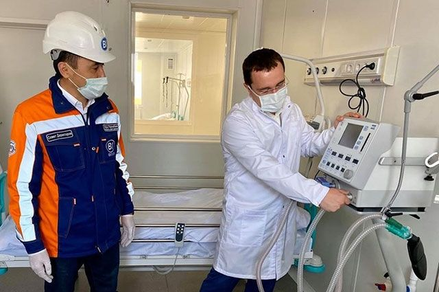 Новая инфекционная больница в Нур-Султане.