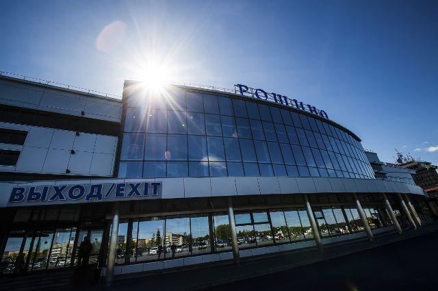 В аэропорту Рощино рекордно сократился пассажиропоток