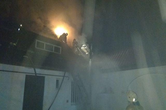 В Калининграде потушен пожар в пристройке к церкви