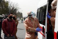 Киев во время эпидемии коронавируса.