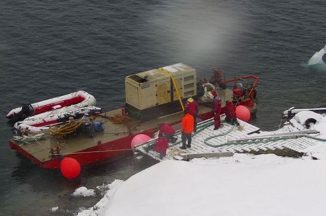 Украинские полярники добрались до Антарктиды