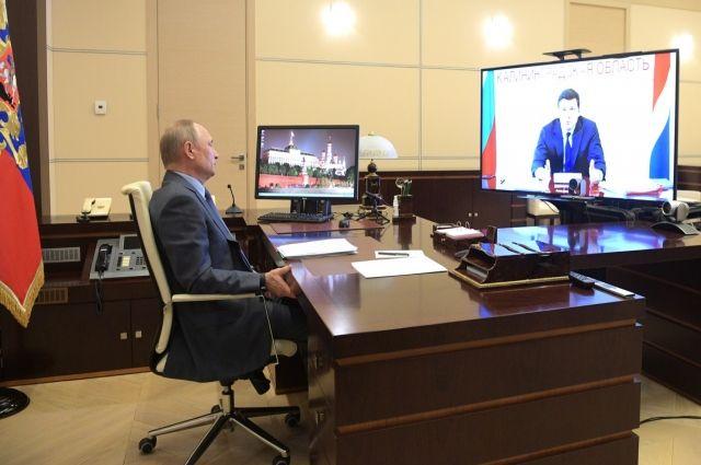 Владимир Путин предложил на два года сохранить субсидии рынку труда области
