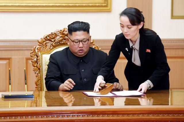 Сестра Ким Чен Ына претендует на роль «человека номер два» в КНДР