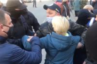 В Запорожской области начались протесты из-за закрытия рынков