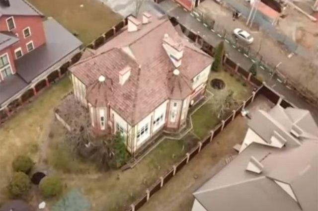 Дом ограбленной Альбины Свинцовой.
