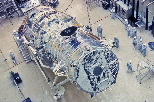 Телескоп «Хаббл».