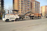 Участок дороги на ул. Судостроительная проводится в рамках национального проекта «Безопасные и качественные автомобильные дороги».