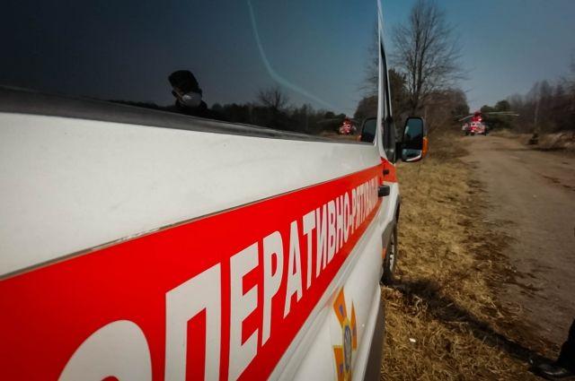 Пожарные продолжают борьбу с огнем в зоне ЧАЭС