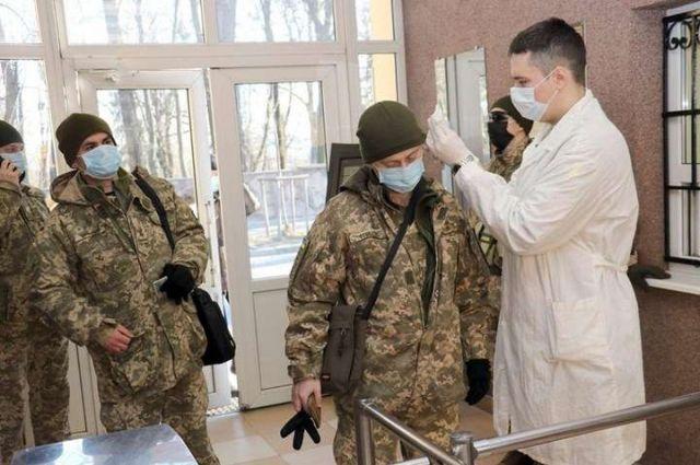 Коронавирус в ВСУ: число подтвержденных случаев заболевания на сегодня
