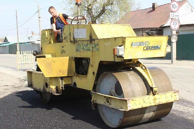 В городе ремонтируют дороги, не попавшие в программа БКАД