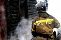 Пострадавших в ходе пожара нет.
