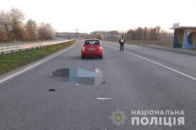 В Винницкой области работник полиции сбил насмерть пешехода