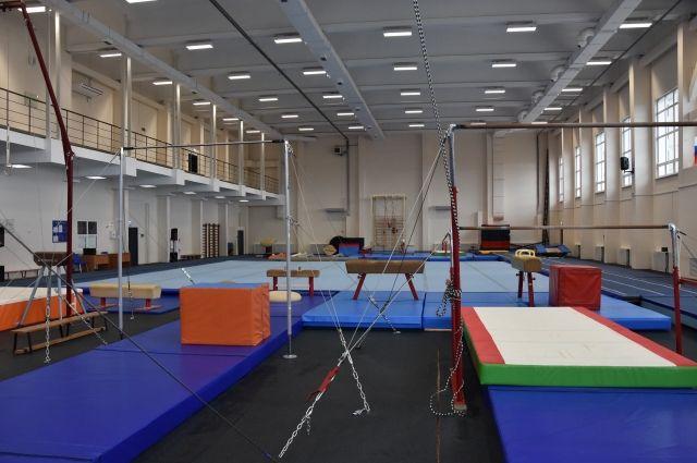 Центр спортивной гимнастики и акробатики Оренбурга укомплектован на 95%.