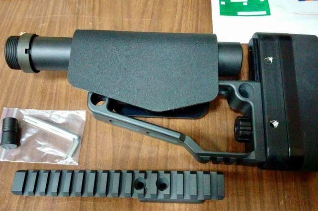 Иностранец пытался отправить по почте из Украины компоненты к оружию
