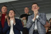 По мнению политолога, Дмитрий Махонин (на фото слева) точно не стал преемником Максима Решетникова (справа). И Пермский край ожидает перезагрузка, в том числе знаковых проектов.
