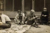 Фермеры-арендаторы из Техаса, изгнанные со своих земель. 1930 г.