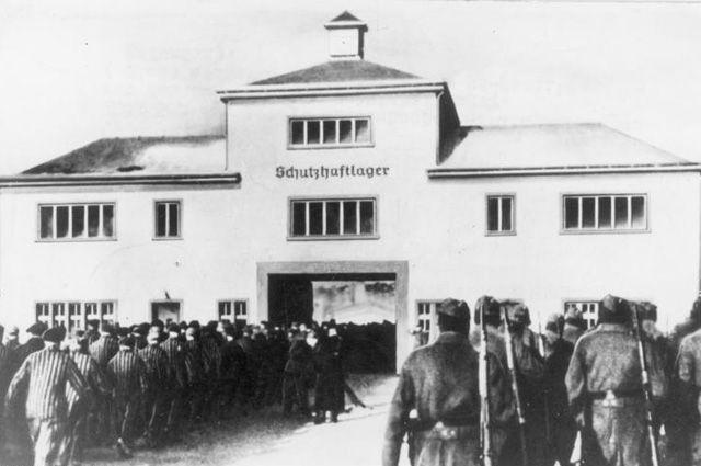 Концлагерь Заксенхаузен.